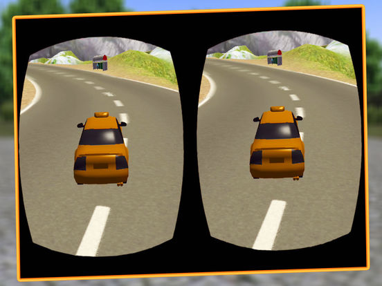 VR Modern Snow Taxi Driving screenshot 8