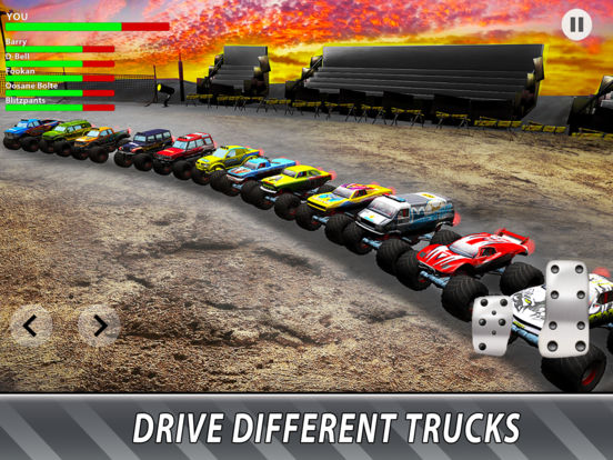 Скачать Monster Truck Derby: Bigfoot Arena Full