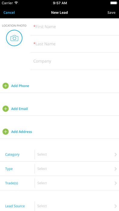 AccuLynx iPhone Screenshot 2