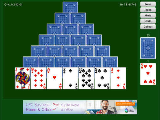 Free Cell Solitaire iPad Screenshot 2