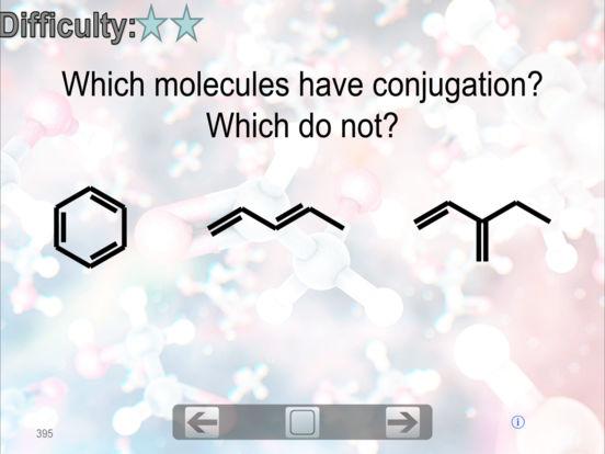 Organic Chemistry FlashCards iPad Screenshot 1