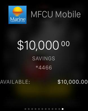 Marine FCU Mobile Access iPhone Screenshot 6