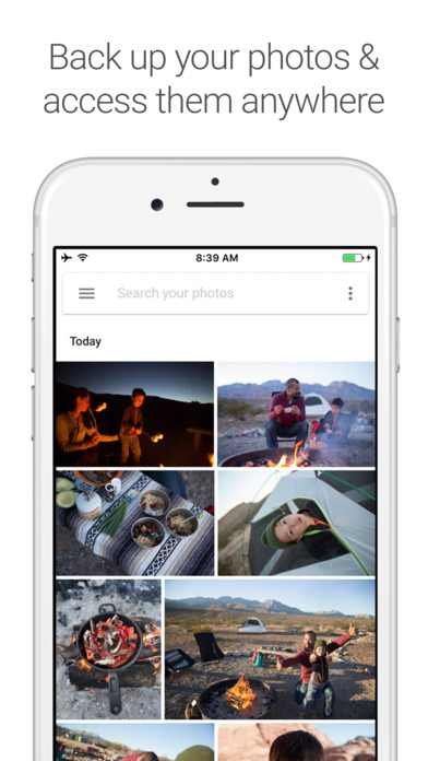 Google Photos - free photo and video storage screenshot 1