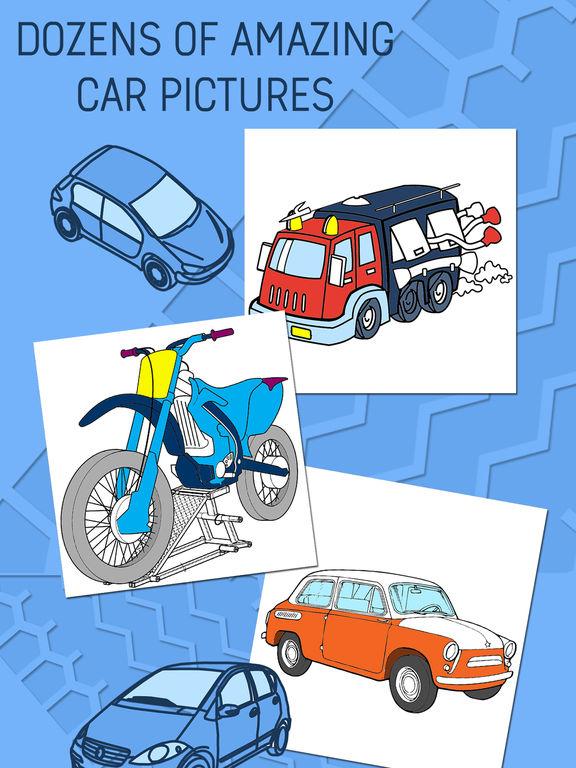 Автомобиль Раскраски Для Детей - Игра Покраска Скриншоты5