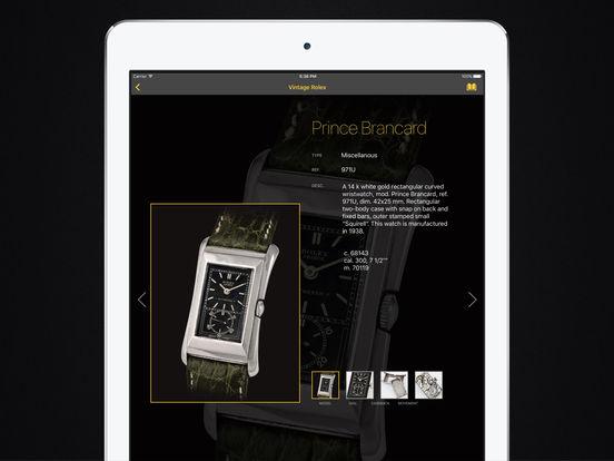 Vintage Rolex HD iPad Screenshot 2