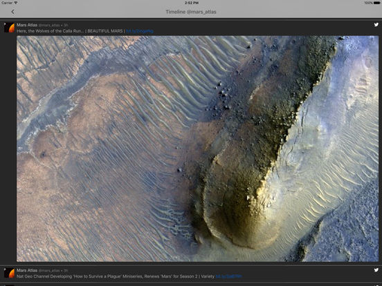 Mars Information: the Red Planet atlas Screenshots