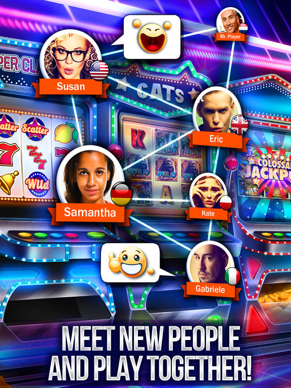 Screenshots of Slots - Huuuge Casino: Free Slot Machines for iPad