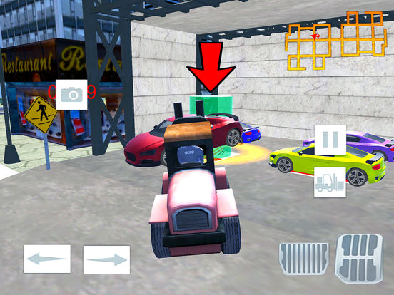 Modern City Police Car Lifter Pro screenshot 7
