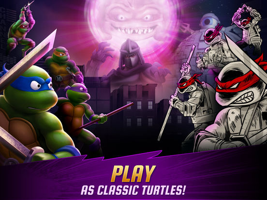 Teenage Mutant Ninja Turtles: Legends Screenshots