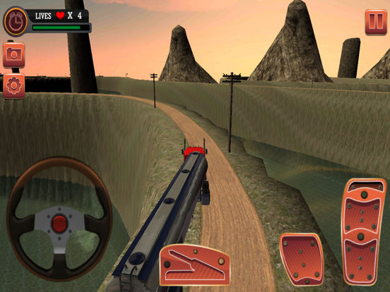 Oil Transport Truck Game Pro Screenshots