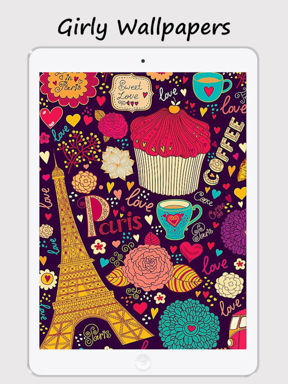 App Shopper Girly Walls Cute Girl Image For Home Lock Screen Lifestyle