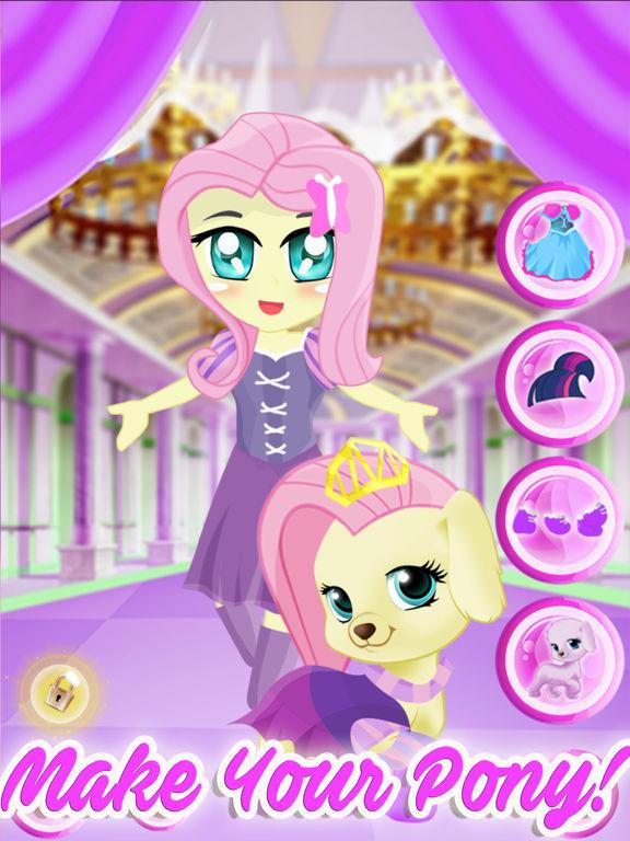 Pony Pet Friendship Dress Up Games screenshot 6