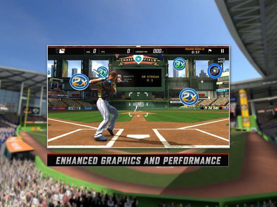 Screenshots of MLB.com Home Run Derby 16 for iPad