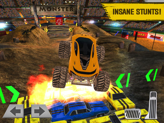 Monster Truck Arena Stunt Driver screenshot 8