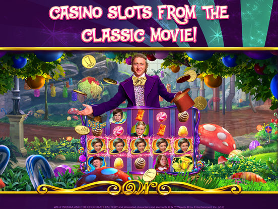 willy wonka slot machine app