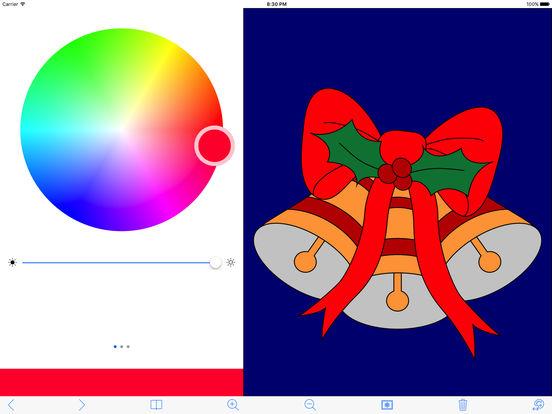 My Holiday Coloring Book iPad Screenshot 1
