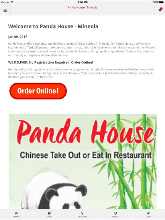 Panda Chinese Food Mineola