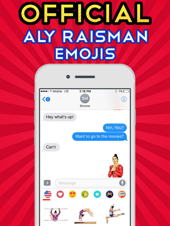 AlyRaismoji by Aly Raisman screenshot 7