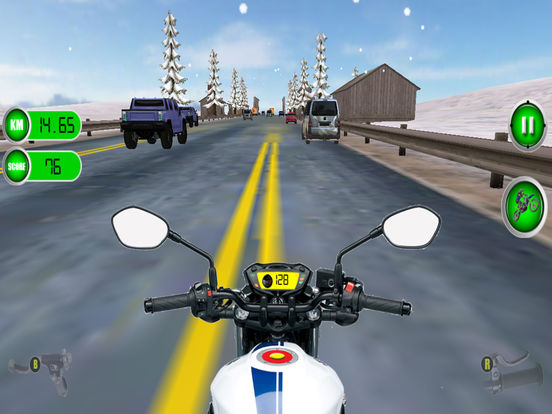 Traffic Moto Racing 2017 Pro screenshot 9