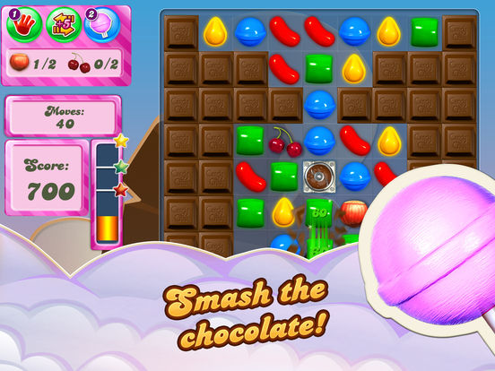 Candy Crush Saga iPad