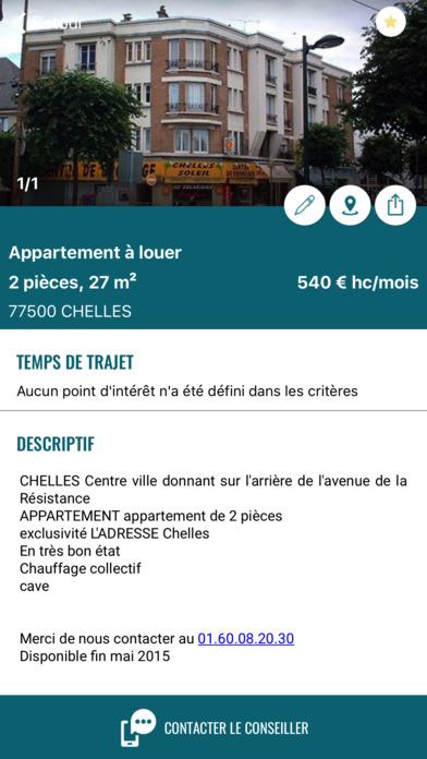 L'Adresse - Réseau immobilier screenshot 2