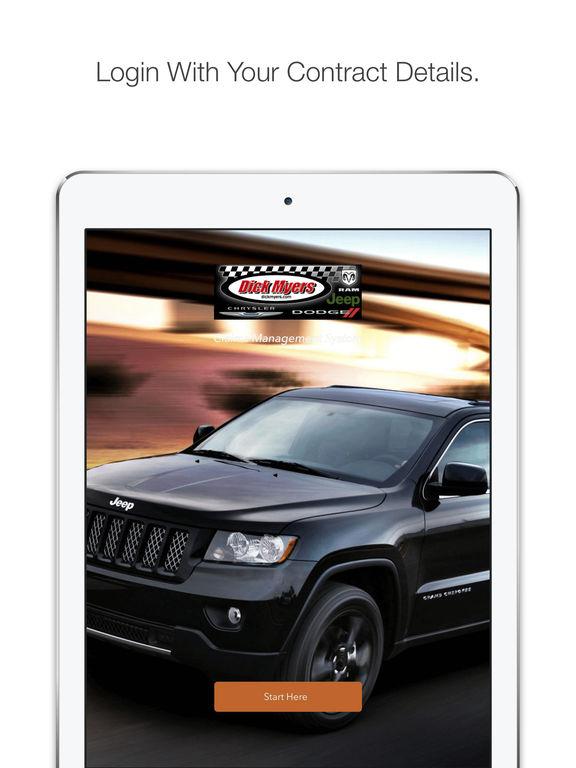 App Shopper Dick Myers Jeep Service Business
