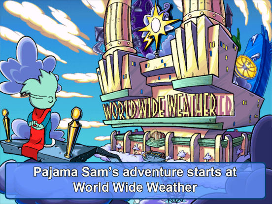 Pajama Sam 2: Thunder and Lightning на iPad