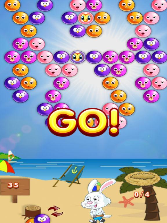 Baby Bubble Bird Rescue: Puzzle Blastscreeshot 1