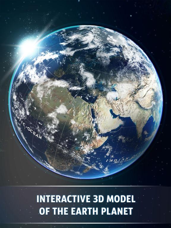 Screenshot #1 for Globe 3D - Planet Earth