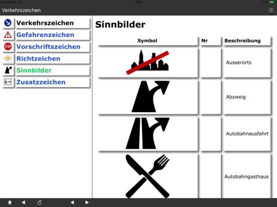 Verkehrszeichen DE iPad Screenshot 4