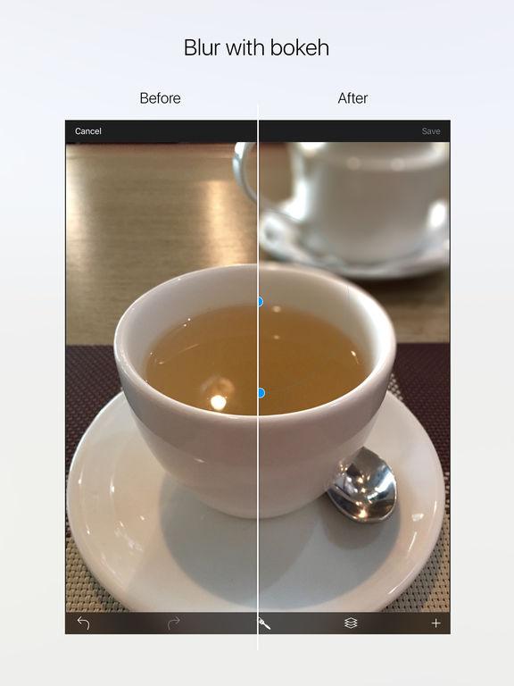 Drop - photorealistic depth of field with bokeh Screenshots