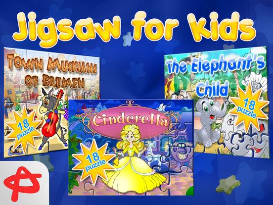 Jigsaw Puzzle: Развивающие пазлы для детей на iPad