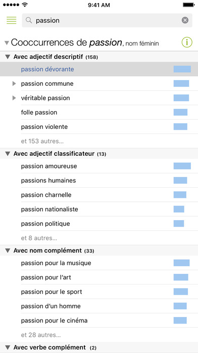 Antidote Mobile – French, Dictionaries & Guides Screenshots