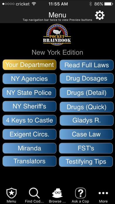 New York - Pocket Brainbook screenshot 1