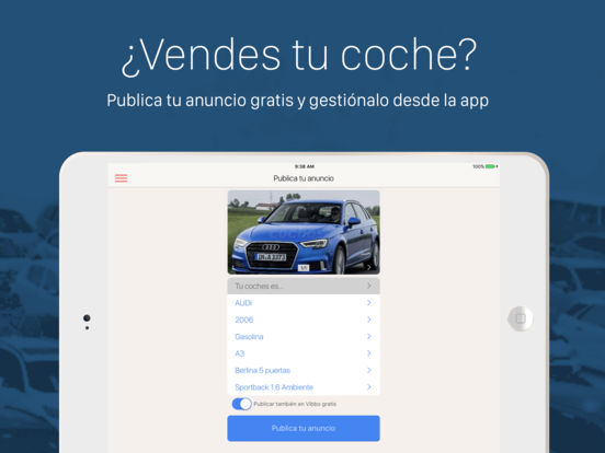 coches.net iPad Screenshot 5