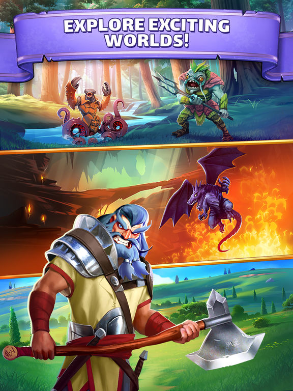 Empires & Puzzles: RPG Questscreeshot 4