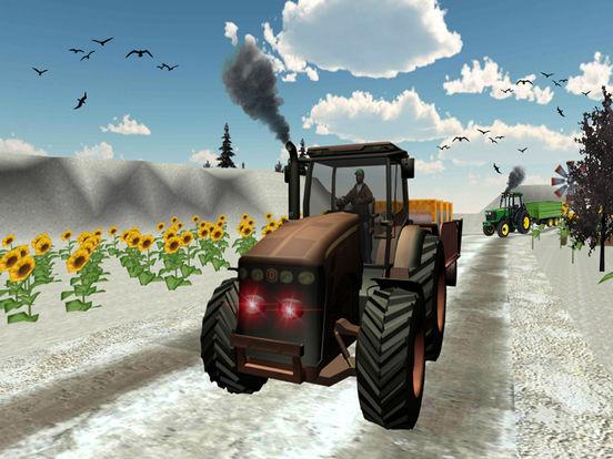 Farmer Tractor cargo sim Pro screenshot 7