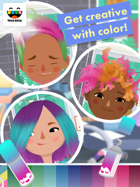Toca Hair Salon 3 iPad