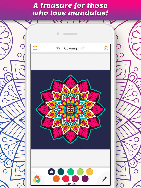Coloring Pages For Adults App : App shopper coloring book for adults page games