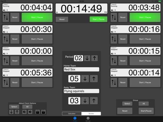 Time Pad iPad Screenshot 2