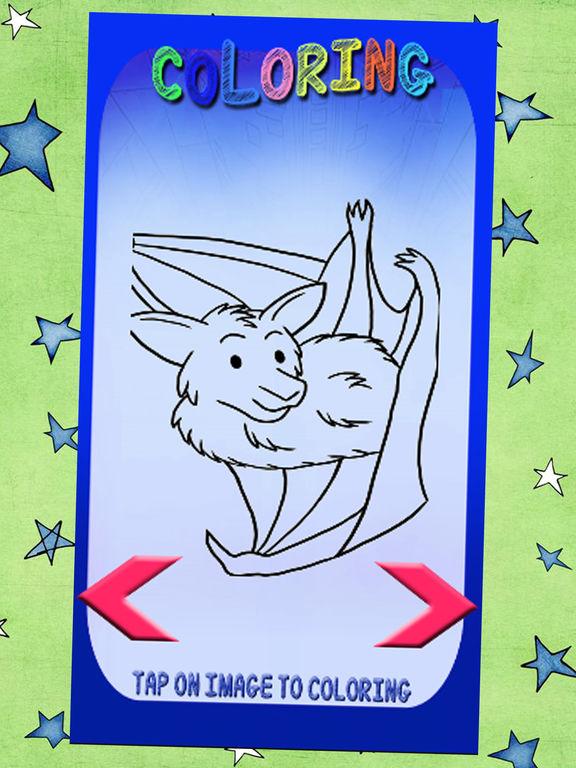 App Shopper Best Coloring Book Game Bat Story Version Games