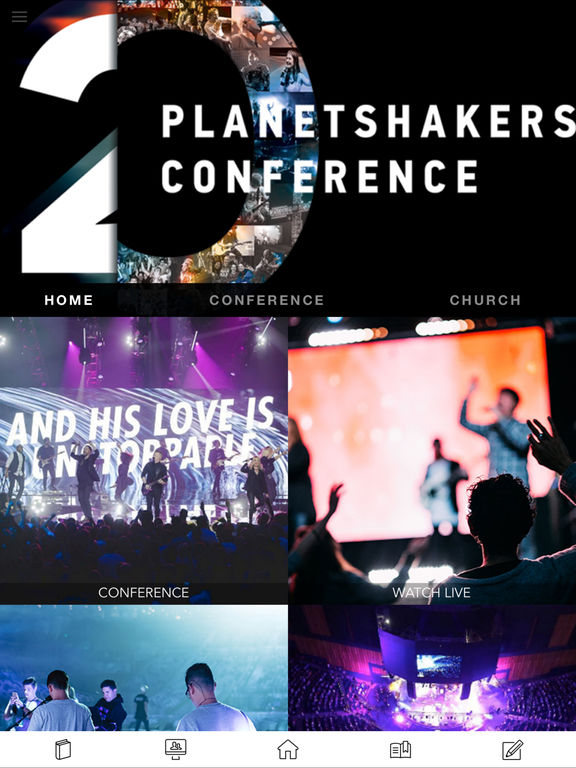 Screenshots for Planetshakers