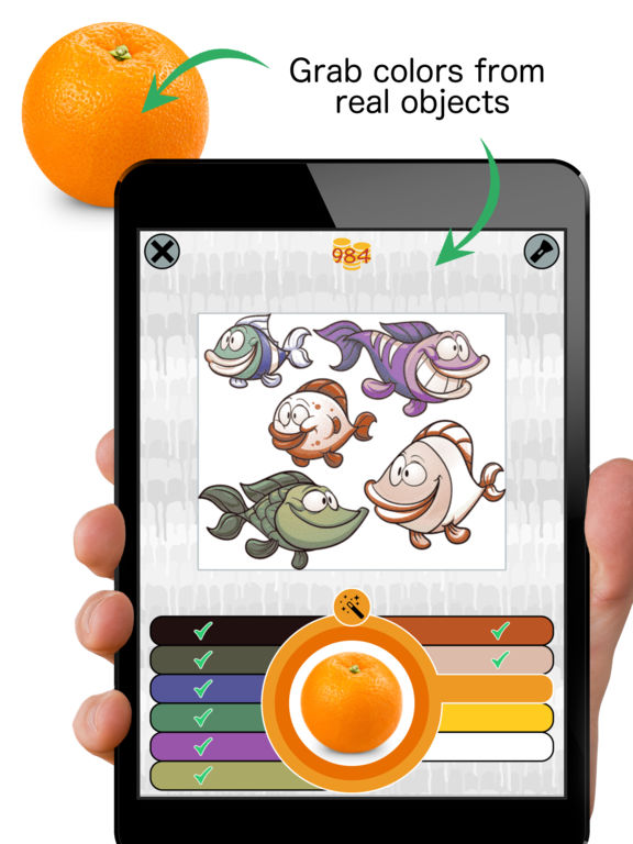 Spectra - Camera Painting - art coloring game Screenshot