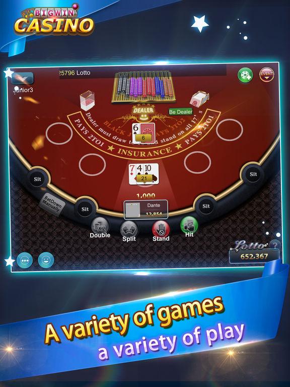Blackjack Casino-Free card poker gamesscreeshot 3