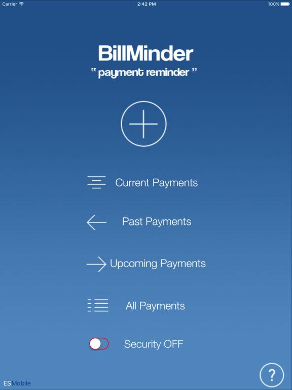 BillMinder -