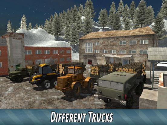 Скачать игру Winter Timber Truck Simulator