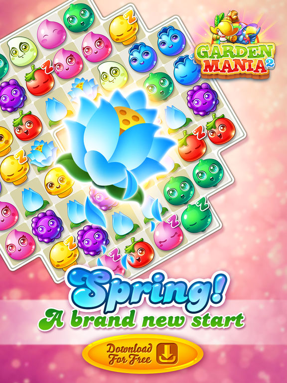 Garden Mania 2 Spring Match on the App Store