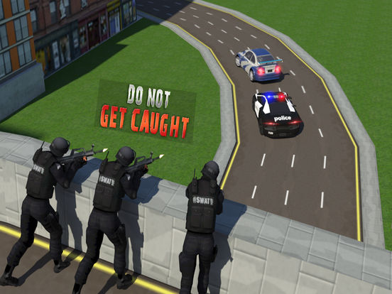 Escape Police Car Chase Game: PRO screenshot 10