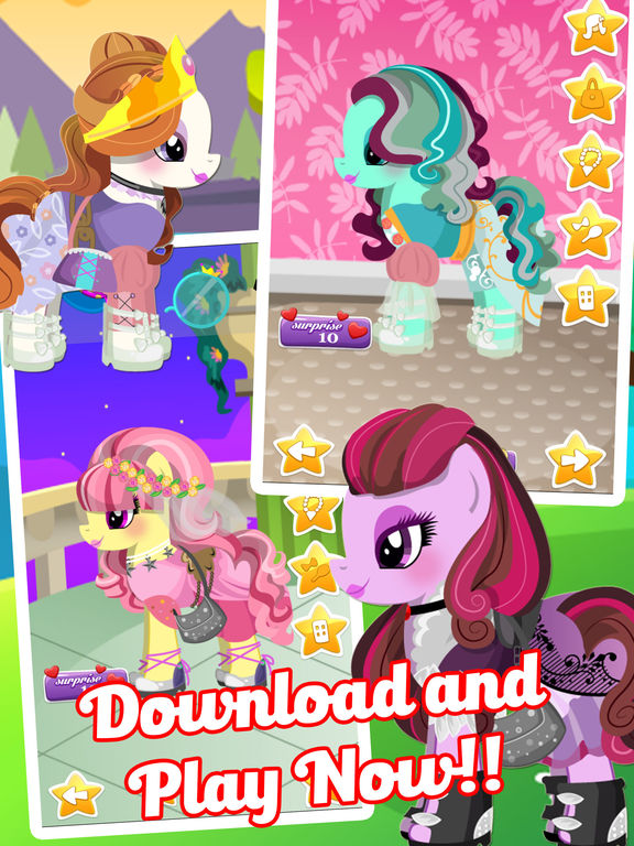 Fun Pony Baby Pet Dress Up Games For Girls & Kidsscreeshot 4