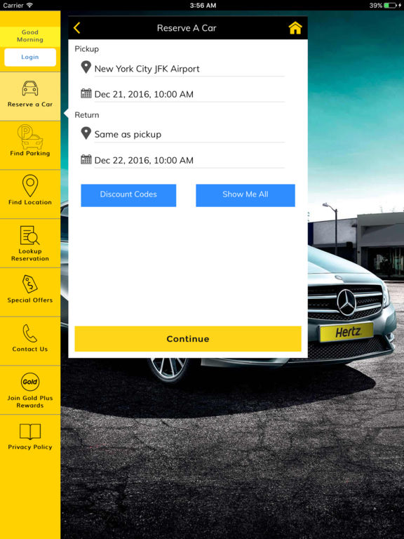 App Shopper Hertz Rent a Car Travel